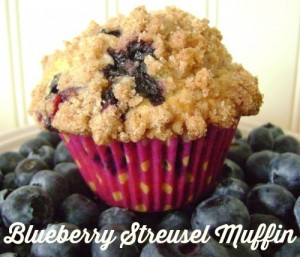 Blueberry Streusel Muffin